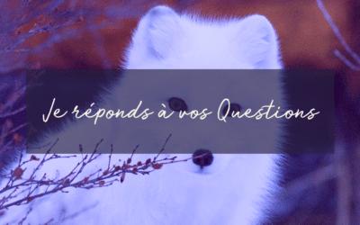 Je réponds à vos questions